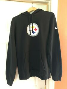 PITTSBURGH STEELERS NIKE PULLOVER HOODED SWEATSHIRT SIZE LARGE