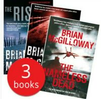 Brian Mcgilloway 3 Book Collection (Nameless dead, The rising, Bleed a River)