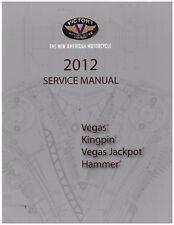 Victory Service Workshop Shop Repair Manual 2012 Vegas High-Ball