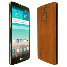 Skinomi Light Wood Skin+Clear Screen Protector For LG Stylo/Stylus 2 Plus