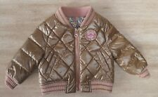 JUICY COUTURE BABY PUFFA JACKET REVERSIBLE SIZE 0-3 MTHS NWOT