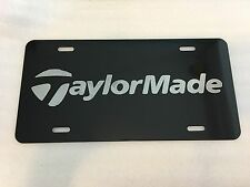 TaylorMade Car Tag Diamond Etched on Aluminum License Plate