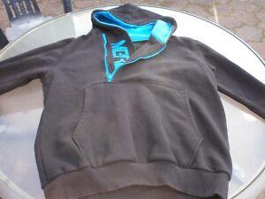 Herren Sweat Pullover Merish Hoodie Gr. XL Schwarz blau mit Kapuze
