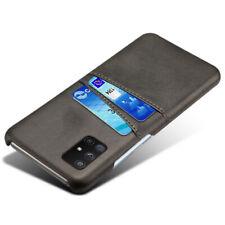 Para Samsung Galaxy Note 10 Lite/S10 Lite Billetera con Ranuras para Tarjetas de Cuero Funda Cubierta