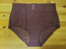 Aerie Purple Lace Hi-Rise Brief NWOT, Size L