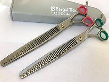 "8.5"" Gift set pets grooming shears dog cat thinning scissors chunker scissors"