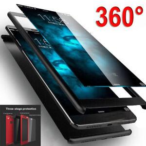 For Xiaomi Pocophone F1 FullBody Case Shockproof Armor Hard Bumper Cover+9H Film
