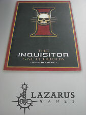 Warhammer 40k The Inquisitor Sketchbook by John Blanche Black Library (K1D22)