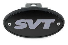 Ford SVT Receiver Hitch Cover Black/Grey - F-150 Raptor SVT Lightning