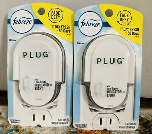 2 Pack Of FEBREZE Plug in Alternating Oil Scented Warmer (warmer Only)