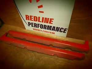 ford focus MK2 ST 5dr side skirts RED
