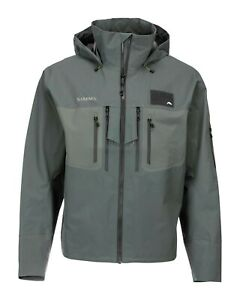 NEW Simms G3 Guide Tactical Wading Jacket XL SHADOW GREEN GORETEX Retail $499.95