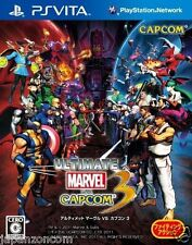 Used PS Vita Ultimate Marvel vs. Capcom 3 SONY PLAYSTATION JAPANESE IMPORT