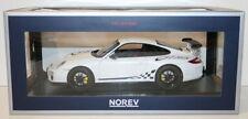 Véhicules miniatures blancs NOREV pour Porsche