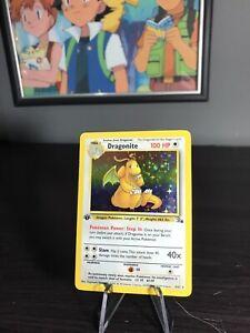 Pokemon 1st Edition Dragonite 4/62 Fossil Holo Rare Near Mint Condition PSA?