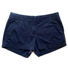 """J Crew Navy Broken In 100% Cotton 3"""" Inseam Chino Shorts 36234 Sz 4"""