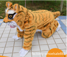 2018 Unisex Tiger Animal Mascot Costume Event Cheerleading Party Cos Game Dress