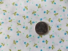 Estate Fabric Floral Flower Calico Vintage Retro Dot Bud Garden BTY  Quilt