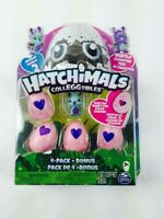 BrandNEW HATCHIMALS CollEGGtibles Season 2 Burtle Collector Pack 4 Pack + Bonus