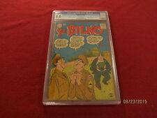 "1957 RARE 1st  ISSUE "" SGT. BILKO  "" COMIC BOOK CGC GRADED  CERTIFIED ORIGINAL"