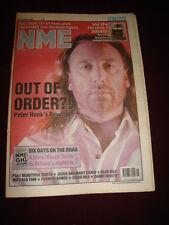 NME 1989 NOV 11 PETER HOOK BEAUTIFUL SOUTH JESUS & MARY CHAIN CHRIS REA