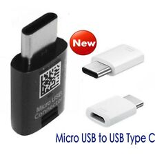 Genuine Samsung Micro USB (female) to USB Type C (male) OTG Converter Adapter