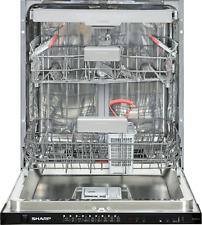 SHARP Geschirrspüler Spülmaschine Einbauspülmaschine vollintegriert 60 cm A+++