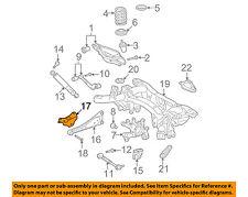 TOYOTA OEM Rear-Trailing Control Arm Bracket Left 487270R010
