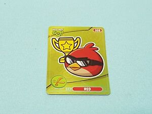 Angry Birds Go!  Trading Cards Limited Edition Red Limitierte Auflage
