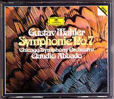 Claudio credesse: Mahler Filarmonica no. 7 Chicago Symphony Orchestra 2cd 1984 WG
