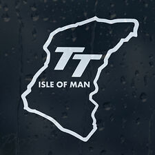 TT Isle Of Man Car Window Windscreen Body Panel Phone Laptop Decal Vinyl Sticker