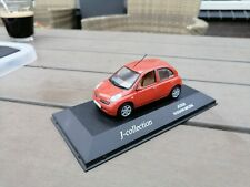 J Collection, 1/43 NISSAN  Micra    on plateau Missing lRicht Mirror   (E1)