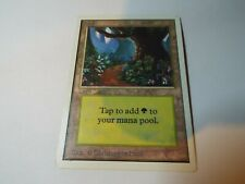 MAGIC THE GATHERING UNLIMITED LAND CARD FOREST ex