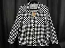 Long Sleeve Button Down Shirt Machine Washable Casual Tops & Blouses for Women
