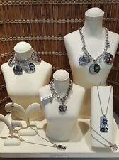 Brighton Fashionista Collection:3 Necklace & 2 Bracelets, Retail $266 Silver NWT