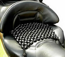 Seat cover, wooden bead