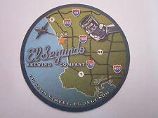 Beer Coaster    EL SEGUNDO Brewing Co ~  ~ Los Angeles, CALIFORNIA Micro Brewery
