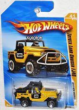 Hot Wheels 2010 #41 New Models #41 Toyota Land Cuiser FJ40 yellow MOC R6454