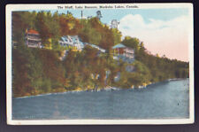 FOREIGN Canada Muskoka Lakes The Bluff Lake Rosseau Postcard