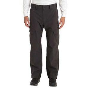 Men's Gerry Water Resistant Fleece Lined 4-Way Stretch Snow Pants