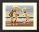 The Picnic Party II 36x28 Framed Art Print by Jack Vettriano
