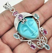 Unbranded Turquoise Not Enhanced Fine Necklaces & Pendants