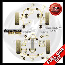 Subaru Legacy BE & BH (98-04)  Powerflex Black Complete Bush Kit