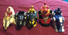 Vintage Mighty Morphin Power Rangers Lot Of 9 Pieces