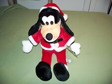 1990 Walt Disney Christmas Character Goofy Plush Toy 18 inch