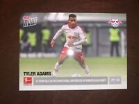 Tyler Adams Topps Now 2019 Bundesliga Debut Rookie Leipzig USMNT Only 88 Made!!!