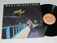 MARTIN STEVENS Midnight Music LP 1979 CBS Records Canada Vinyl Disco Album VG/VG
