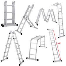 Excel Aluminium Combination Ladder 12 in 1 Multipurpose 12 Tread 3.5M Heavy Duty