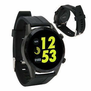 Lightweight Watch Weather Report Full Touch Colorful Screen Carbon Fibre Body