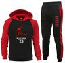 Mens Michael Air Legend 23 Chicago bulls Tracksuit Hoodie & Pant Men Sportswear